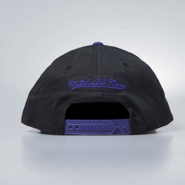 14e0d4714c6 ... Cap Mitchell & Ness snapback Los Angeles Lakers black Wordmark Jersey  Hook ...