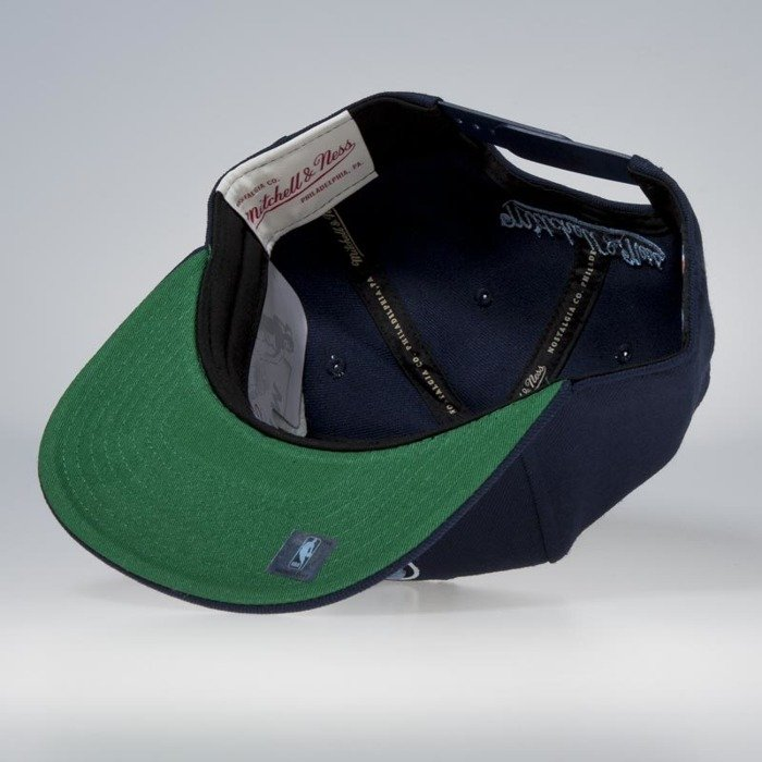 7993b1cd63d5b ... authentic cap mitchell ness snapback memphis grizzlies navy wool solid  solid 85c51 8bb40