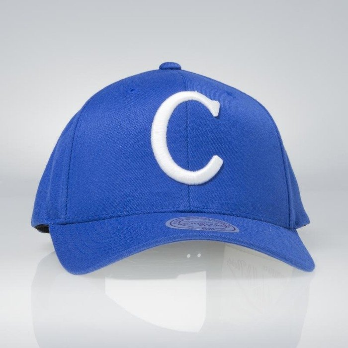 50b7deb5d26fb ... Flexfit 110 · Cap Mitchell   Ness snapback Montreal Canadiens blue Team  Logo High Crown Flexfit ...