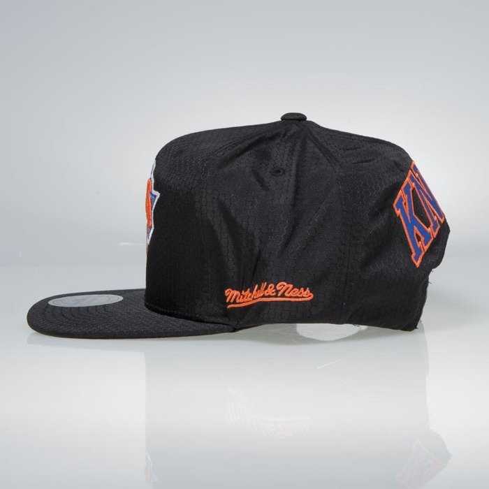 d66d6a08a647da ... where to buy cap mitchell ness snapback new york knicks black black  ripstop honeycomb 361d8 fcd34