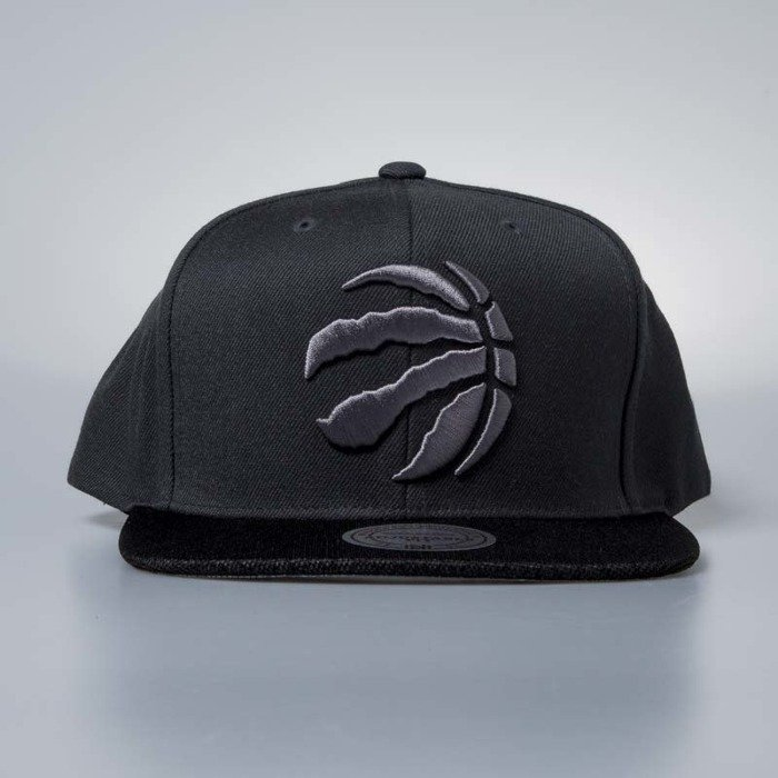 quality design 37ee0 0d282 ... Cap Mitchell   Ness snapback Toronto Raptors charcoal Hologram Mesh  Stop On A ...