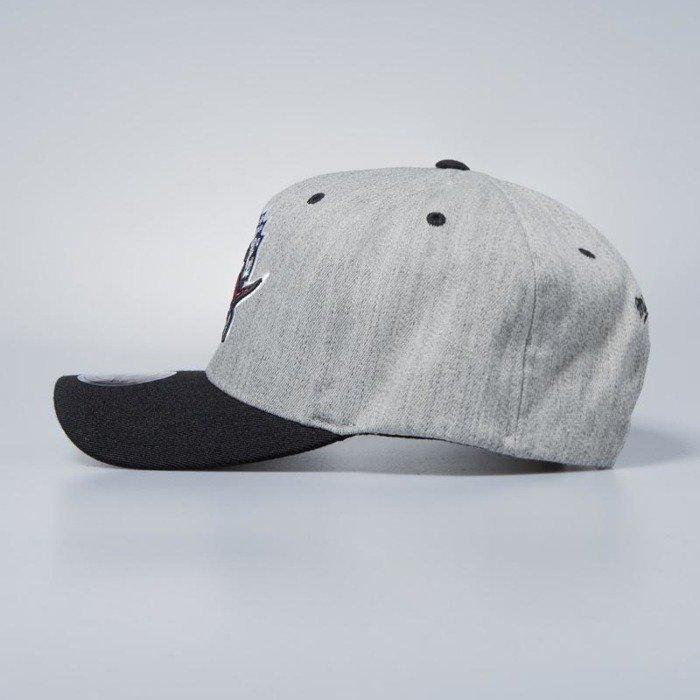 buy popular 34c5e 52429 ... Cap Mitchell   Ness snapback Toronto Raptors grey   black Team Logo 2- Tone ...
