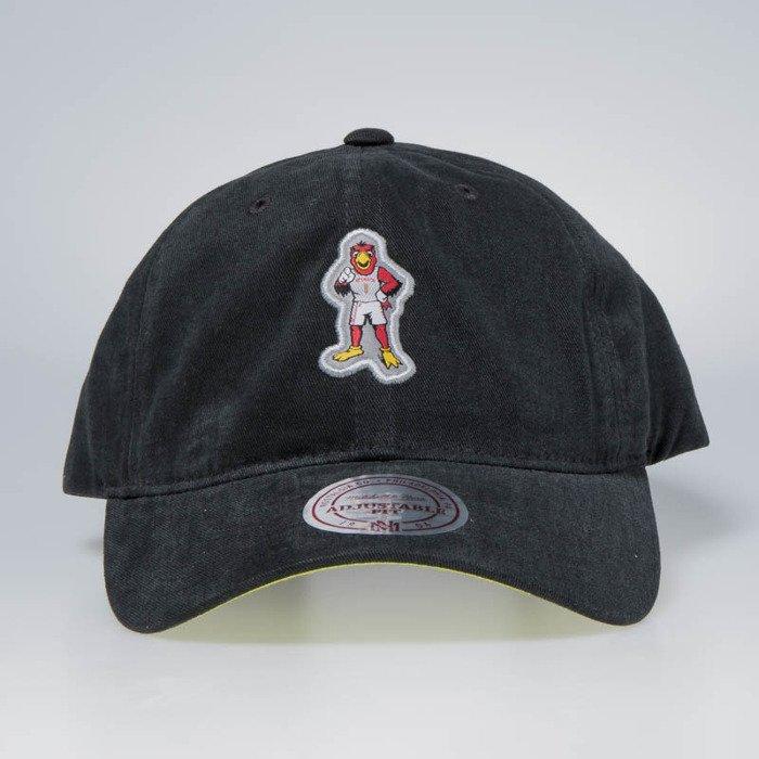 Cap Mitchell   Ness strapback Atlanta Hawks grey Team Mascot Slouch ... fecbb6de04b3
