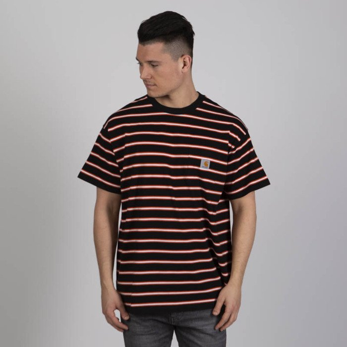 cca7ac3abe8b ... Carhartt WIP S S Houston Pocket T-shirt houston stripe dragon stripe ...
