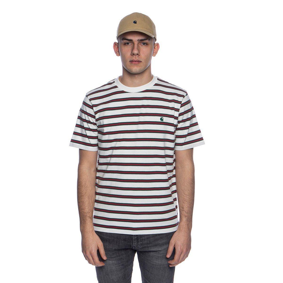 Carhartt WIP-S//S Oakland T-shirt Oakland Stripe//Black//Yoda