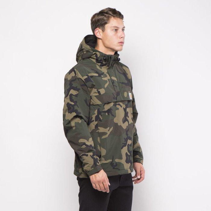 Carhartt Wip Jacket Nimbus Pullover Camo Combat Green