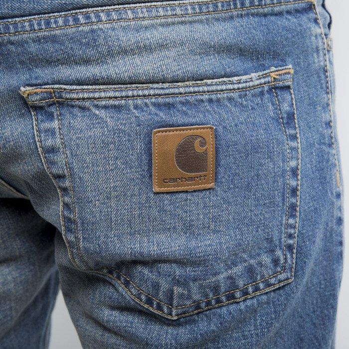 carhartt wip jeans pants klondike ii blue sand. Black Bedroom Furniture Sets. Home Design Ideas