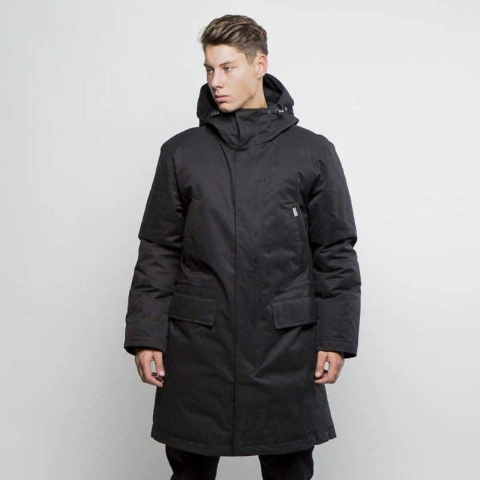 carhartt wip winter jacket aphex parka black. Black Bedroom Furniture Sets. Home Design Ideas