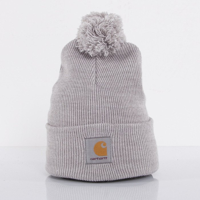 ... Carhartt winter cap Bobble Watch grey heather ... de08ae3511a2