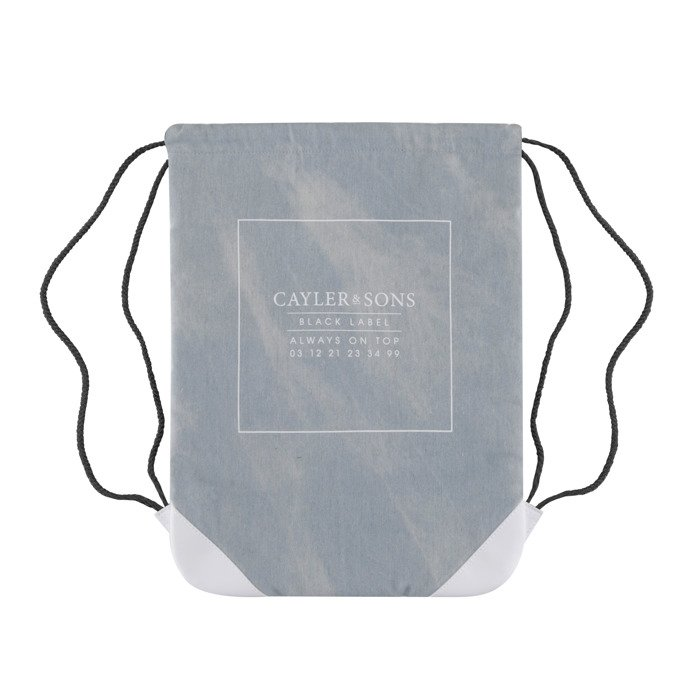 ... Cayler   Sons BLACK LABEL Moto Gymbag light blue denim   white BL-CAY-  ... 0fef2d9998b