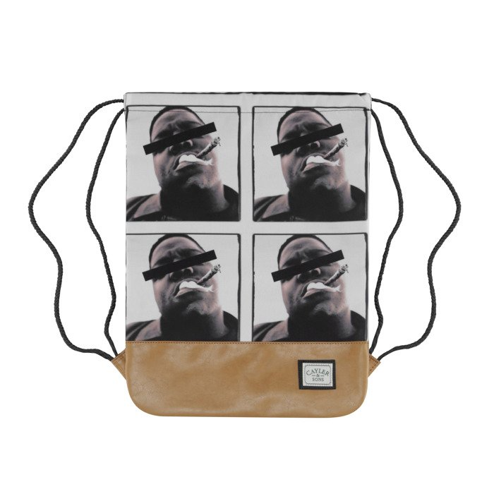 Cayler   Sons Bedstuy Gymbag black   mc   brown GL-CAY-AW16-GB-03 ... a1ddadebf1c