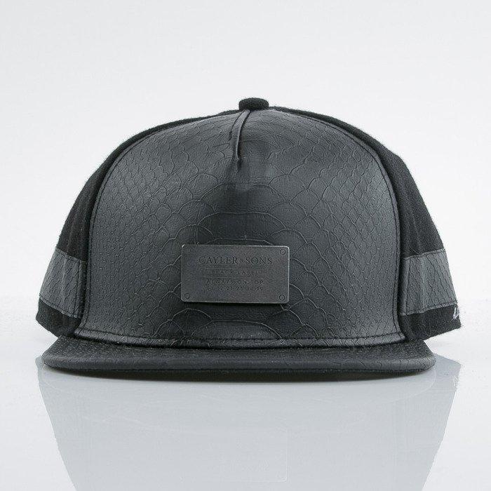 beb18844f4f Cayler   Sons Black Label cap snapback Plated black   black   snake  (BL-CAY-AW15-11-03-OS)