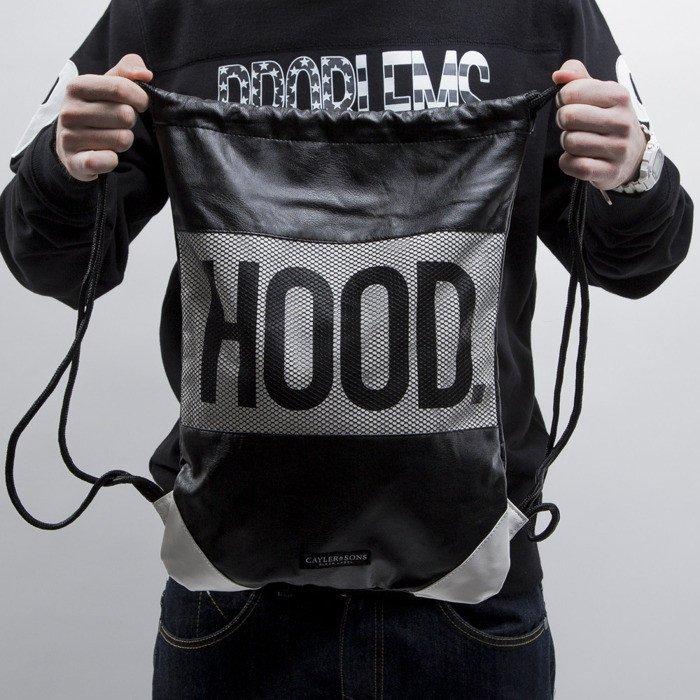 Cayler   Sons Black Label gym bag Hood Love black white (BL-CAY-SS15 ... c072e06f703