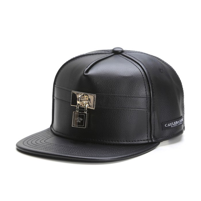 94764b2a113 Cayler   Sons Black Label strapback Lockdown Cap black   gold  (BL-CAY-SS16-11-01)