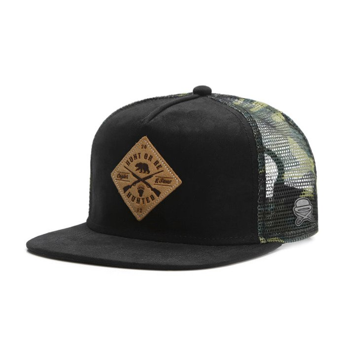 4e62ad0b8cf ... Cayler   Sons Copper Label snapback Hunting Cap black   woodland  CL-CAY-SU16 ...
