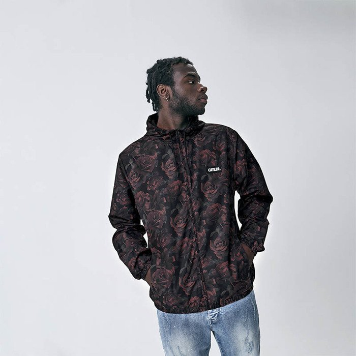 b02468b0 Cayler & Sons Jacket White Label Carris Windbreaker floral / mc |  Bludshop.com