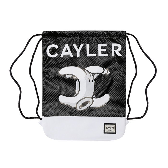 Cayler   Sons No.1 Gymbag white marble   black WL-CAY-AW16-GB-15 ... 91d03777116