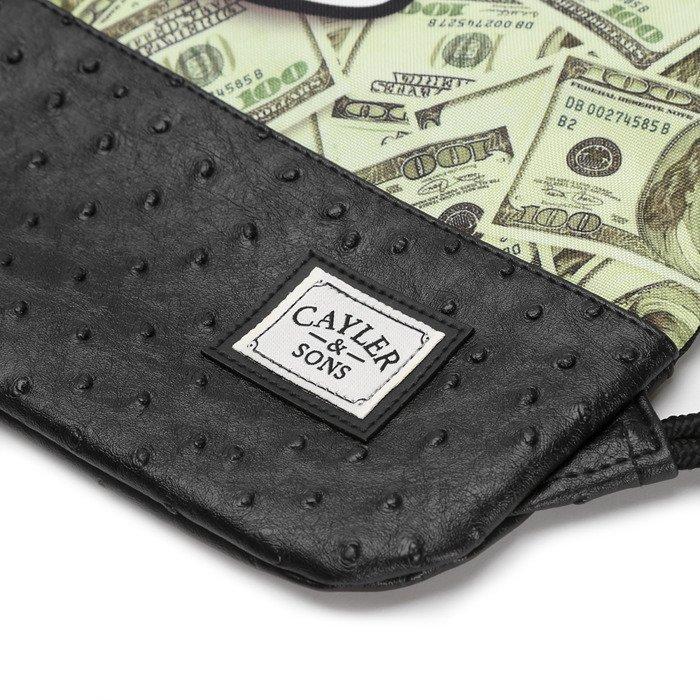 Cayler   Sons White Label Get Money Gymbag black   mc (WL-CAY-SS16 ... 9b60ef0746c