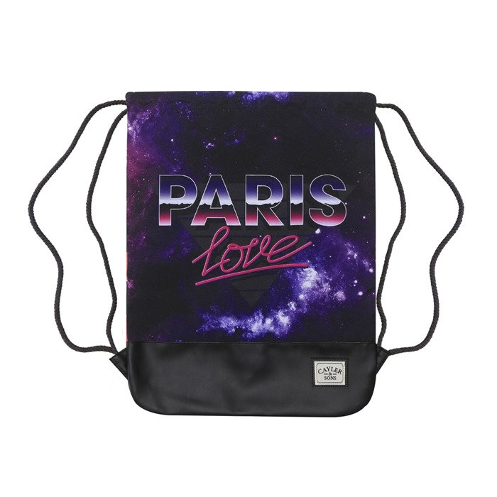 Cayler   Sons White Label Paris Love Gymbag black   mc (WL-CAY-SS16-GB-06)   70a6b0378d3