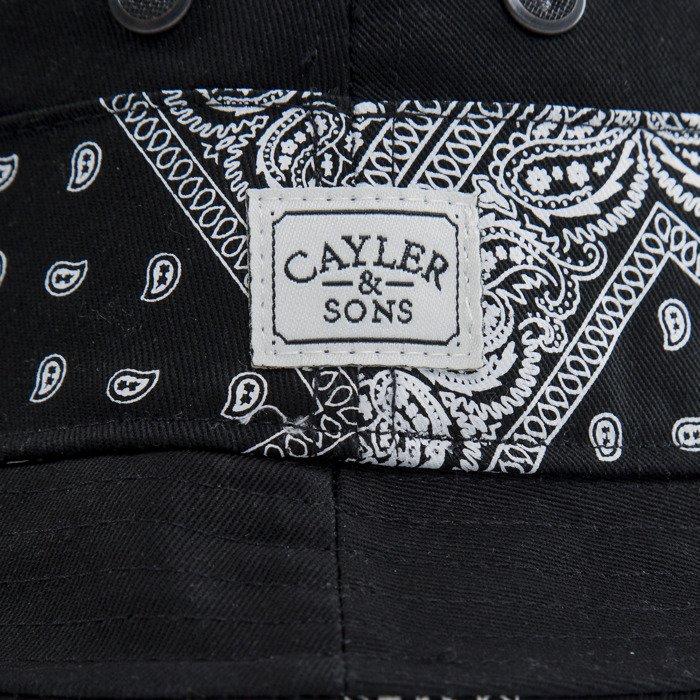36329cb5d40 Cayler   Sons bucket hat Bandana black   paisley (CAY-SU15-25 ...