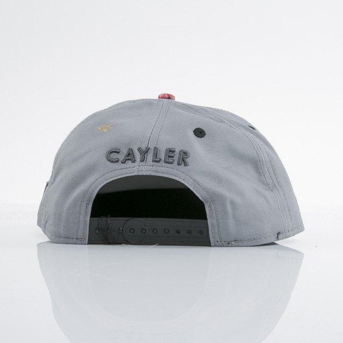 2393d1f38b3 ... Cayler   Sons cap snapback Amsterdam grey   tulip camo   black (GL-CAY  ...