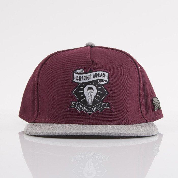 Cayler   Sons cap snapback Bright Ideas maroon   dark grey (CL-CAY-AW15-01-OS)   30dd1761127