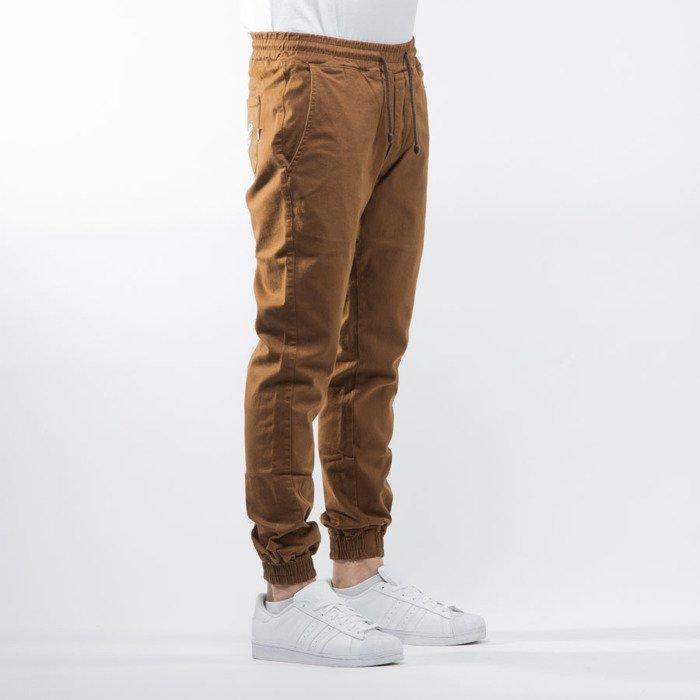 Diamante Wear jogger pants u0026quot;Jogger Classicu0026quot; brown | Bludshop.com