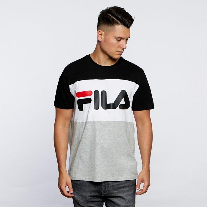 Fila T shirt Men Day Tee light grey melange black bright white