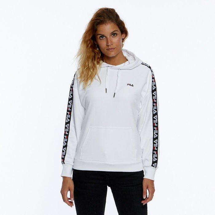 f5a80b332b Fila WMNS Sweatshirt Women Clara Hoody Sweat bright white