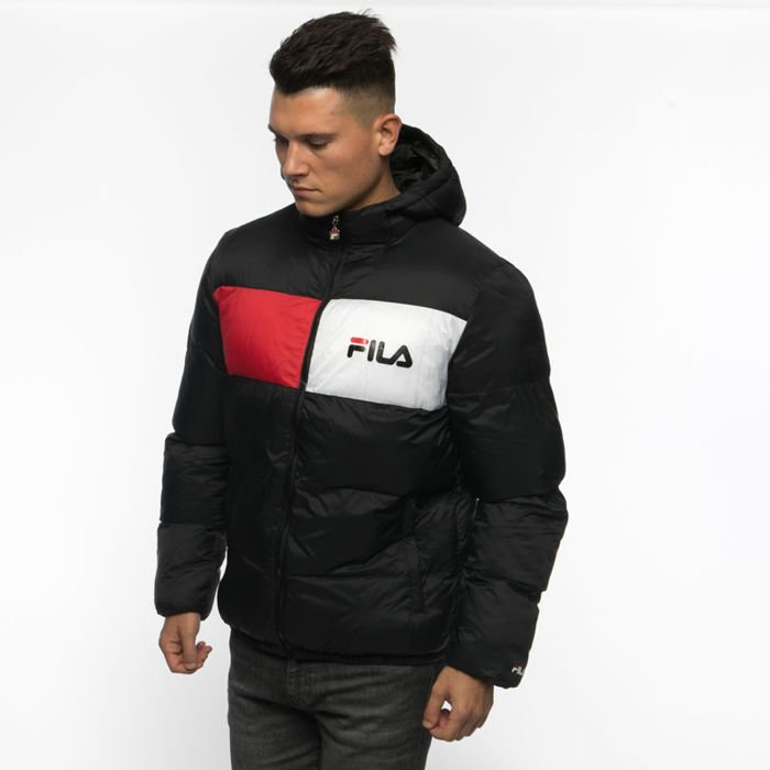 Fila Winter Jacket Fila Floyd Puff Hood Jacket black