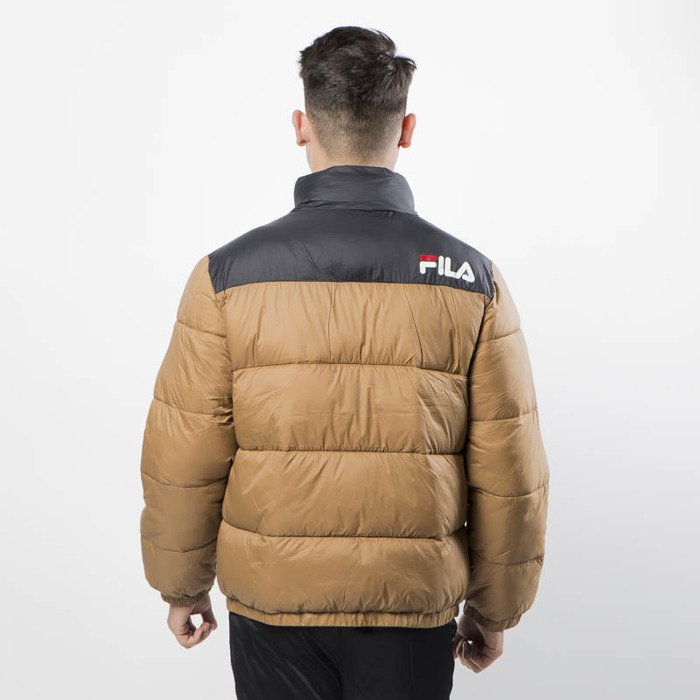 Fila Winter Jacket Men Raith Puff Jacket camel