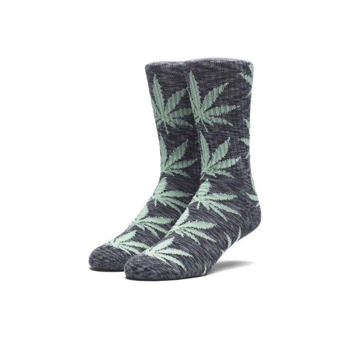c16ac2577795c HUF Melange Plantlife Socks black
