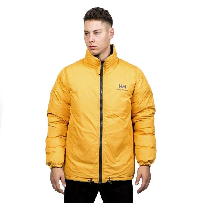 Helly Hansen Winter Jacket Reversible Down Jacket ebony