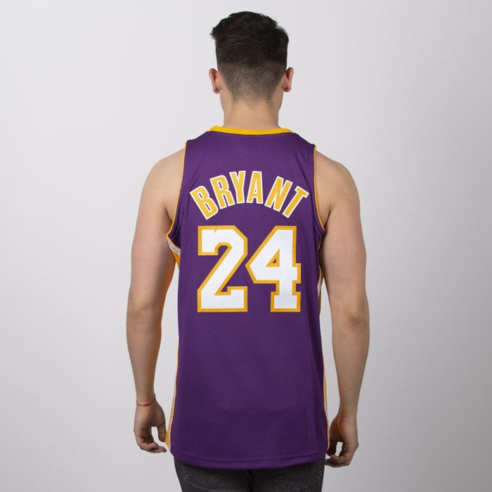 differently 8592f 793f3 Jersey Mitchell & Ness Los Angeles Lakers #24 Kobe Bryant purple Authentic  Jersey