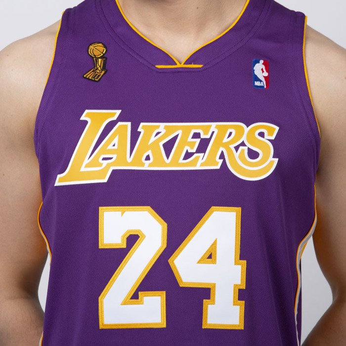 differently 835c6 7dd92 Jersey Mitchell & Ness Los Angeles Lakers #24 Kobe Bryant purple Authentic  Jersey