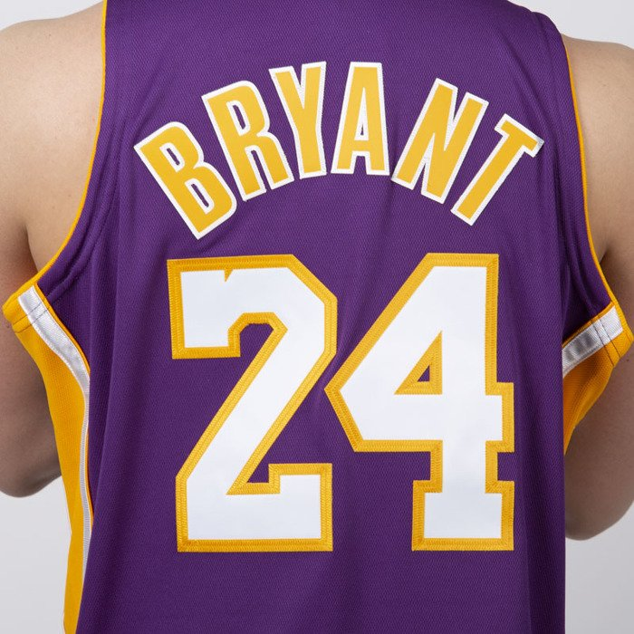 0f76161e6cd ... Jersey Mitchell   Ness Los Angeles Lakers  24 Kobe Bryant purple  Authentic Jersey ...