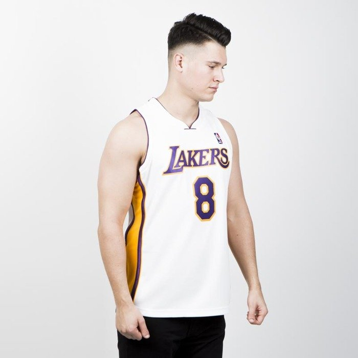 kobe bryant number 8 jersey white jersey on sale