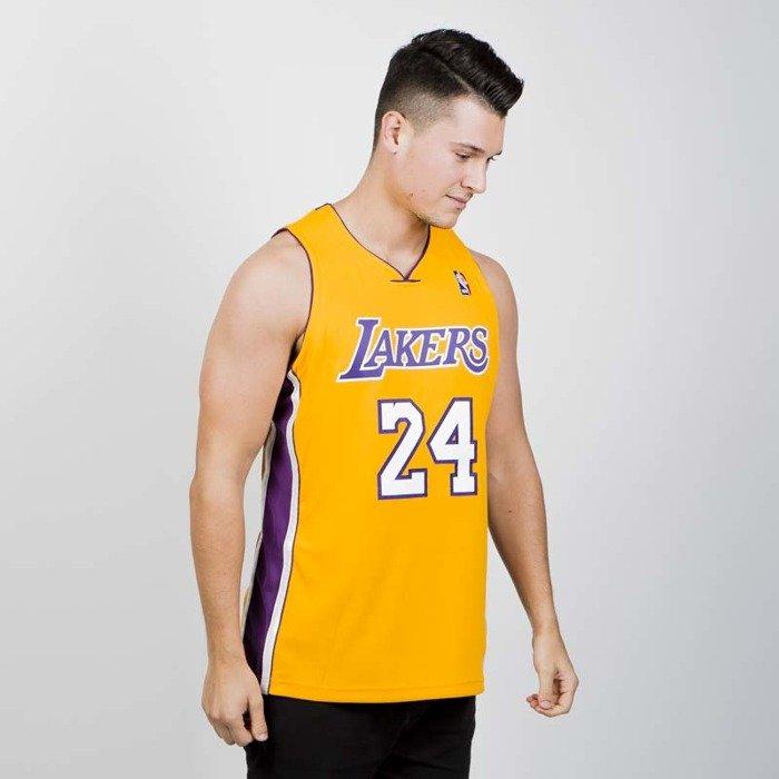 901b5085be9 ... Jersey Mitchell   Ness Los Angeles Lakers - Kobe Bryant 2008-09 yellow    purple ...