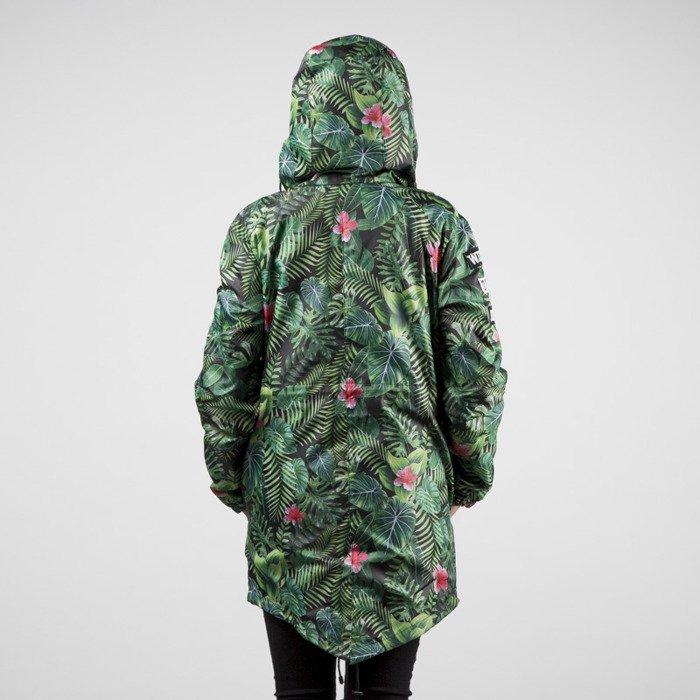Jungmob Jungle Mess Rain Jacket Green Black Bludshop Com