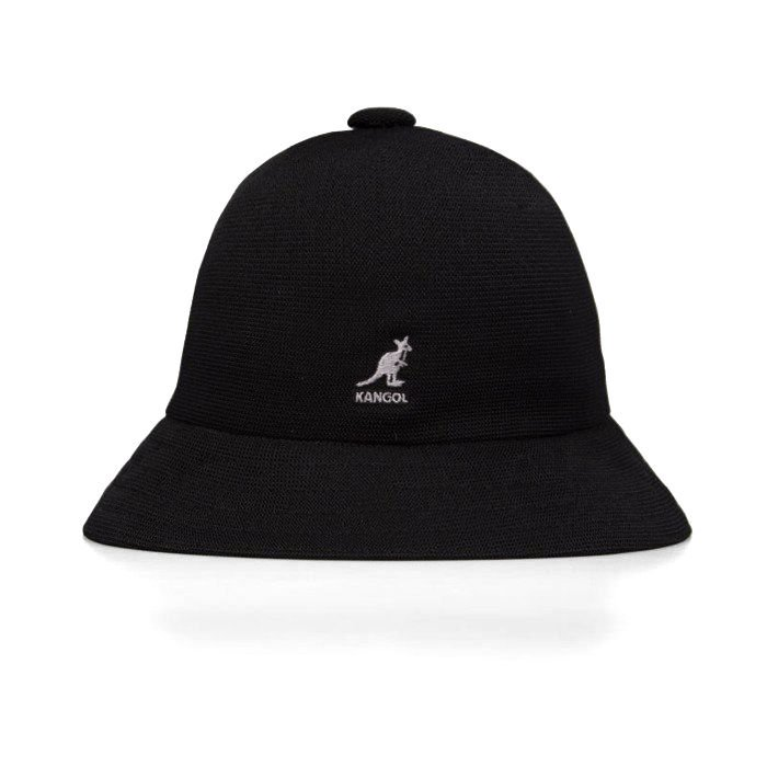 Mens Classic Kangol Tropic Casual Bucket Cap Color  Black