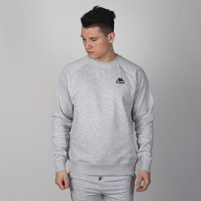 Grey Sweatshirt Melange Kappa Kappa Taule XTPiuOkZ