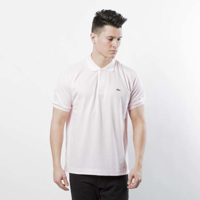 e19eb914256d ... Lacoste Polo pink rose L1212-T03 ...