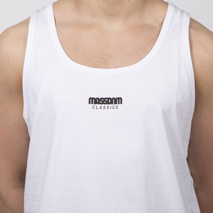 9aa6f08f3c7b24 Mass Denim Classics Small Logo Tank Top white ...