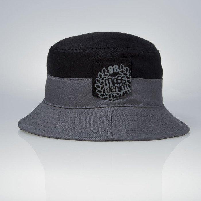 5db78037741 Mass Denim bucket hat Pocket Base dark grey   black