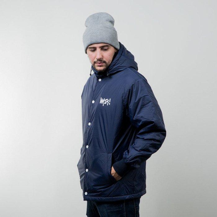 eeac364880c56 Mass Denim jacket Signature navy | Bludshop.com
