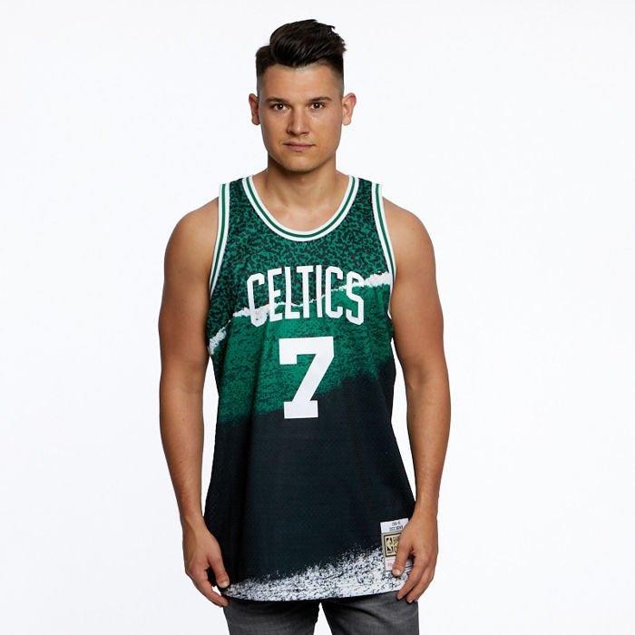 Mitchell & Ness Boston Celtics #7 Dee Brown black Swingman Jersey