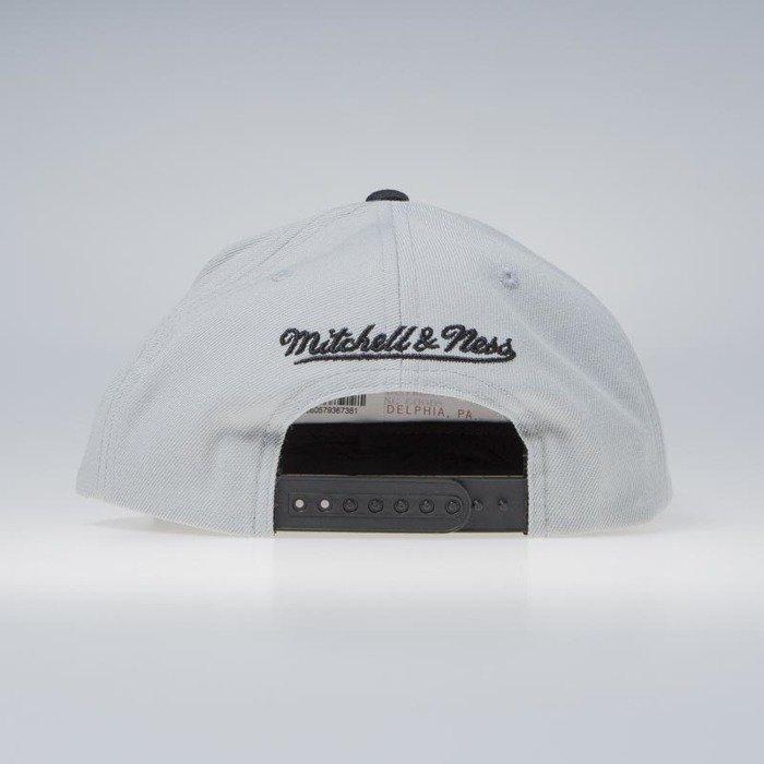 new product 14f4f f347e ... free shipping mitchell ness brooklyn nets snapback cap grey nba cropped  xl snapback bc03c d8dbd