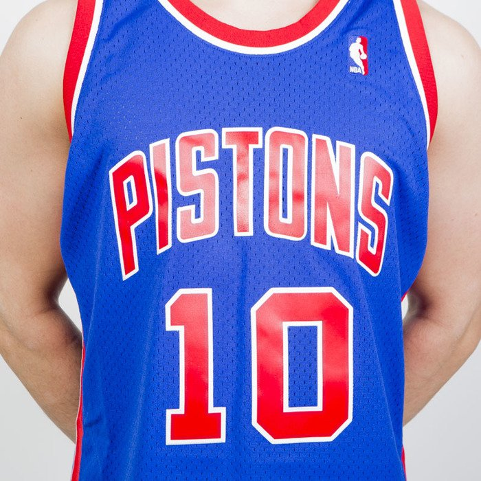 235933167ef ... Mitchell & Ness Detroit Pistons #10 Dennis Rodman blue/red Swingman  Jersey ...