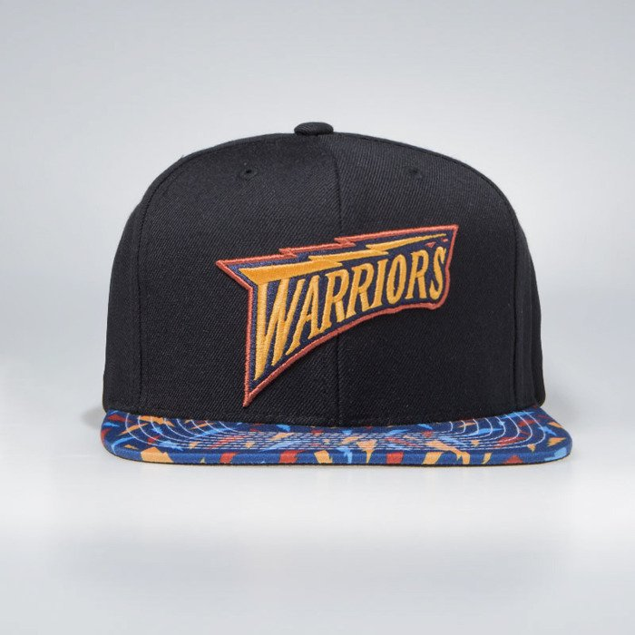 23b8642d1b5ce Mitchell & Ness Golden State Warriors Snapback Cap black Team DNA Snapback  | Bludshop.com
