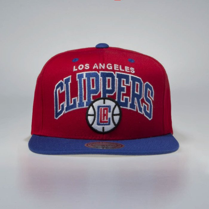 8004f5167c8 ... Mitchell   Ness Los Angeles Clippers Snapback Cap red   royal Team ...